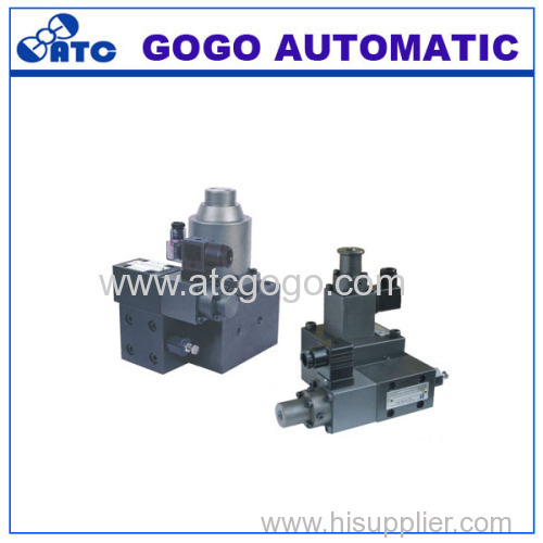 Proportional electro hydraulic control p-q valve Proportional valves