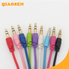 Colorful 3.55mm video audio cable for speaker headphone