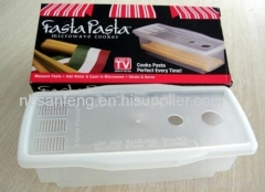Microwave Fast Pasta Cooker Pasta Express Tool Pasta Pot Microwave Pasta Cooker