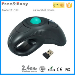new arrival ergonomic 2.4g wireless trackball mouse
