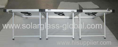 150W foldable/18V mono solar panel