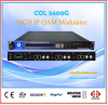 IP qam modulator 16 ch for catv system