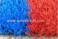 coloful soft artificial grass for commerical area