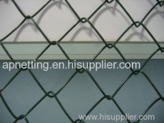 Diamond Chain Link Wire Mesh Fence for Playground/Bottom Price Decorative Garden Chain Link Fence