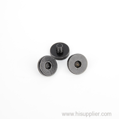 New supply plastic knob head with stainless steel machine screw for camera SS201 or other material