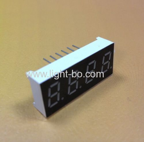 Ultra red 0.3  4 digit 7 segment led display common cathode for Temperature indicator