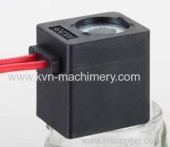 Pneumatic coil valve air