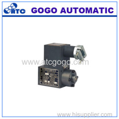 Series solenoid for explosion-isolation valve
