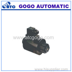 Series wet valve solenoid