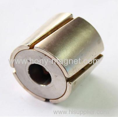 torsional tile arc neodymium magnets for motors