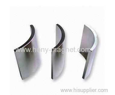 Rare Earth Magnets Wholesale Arc Neodymium Motor Magnet