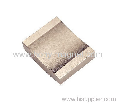 supers strong segment and arc neodymium magnet