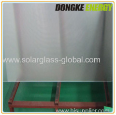 PV clear solar panel coating glass