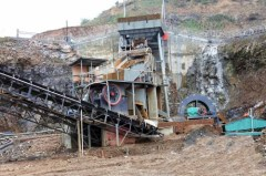 Commonly used type of big stone crushing plant