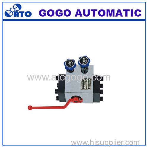 QFZ control valve group for accumulator
