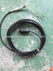 manual powder gun cable