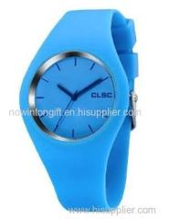 silicone watch jelly watch