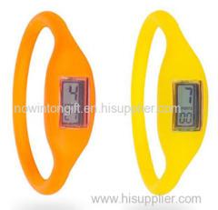 Anion silicone sport watch