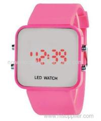led watch silicone watch