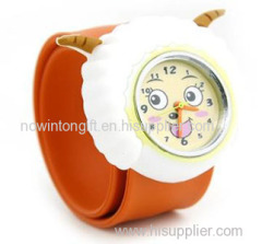 slap watch silicone watch