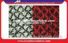 Polyester Printed Wool Jacquard Fabric
