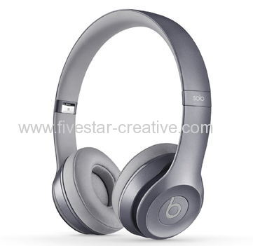 Wholesale Beats Solo 2 Wired Royal Edition Stone Grey On-Ear Headphones