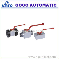 high pressure ball core stop valve