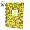 Hardcover Spiral Notebook Officer Notebooks