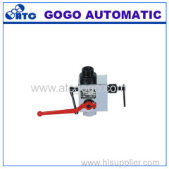 AJF type safety stop valve