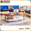 Chengdu furniture oval solid wood tea/side table