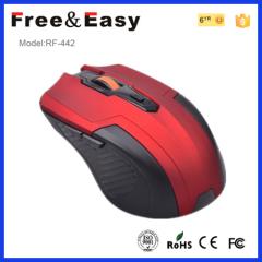 5 button wireless mouse with mini Nano receiver