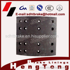 truck part brake shoe lining for volvo Scanica Howo BPW SAF