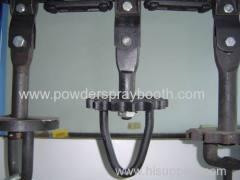 Coating conveyor line parts