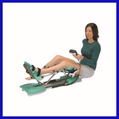 Digital leg rehabilitation equipment for hospital use