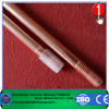 Threaded Copper Coated Ground Rod lighting protection