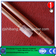 Threaded Copper Coated Ground Rod