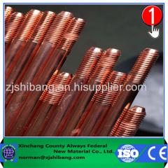 Kupfer-Clad Stahl Erdungsleiter
