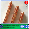 Underground application copper clad steel ground rod