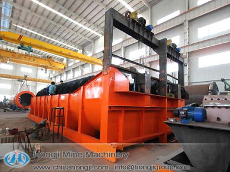 Double ore spiral classifier with competitive price