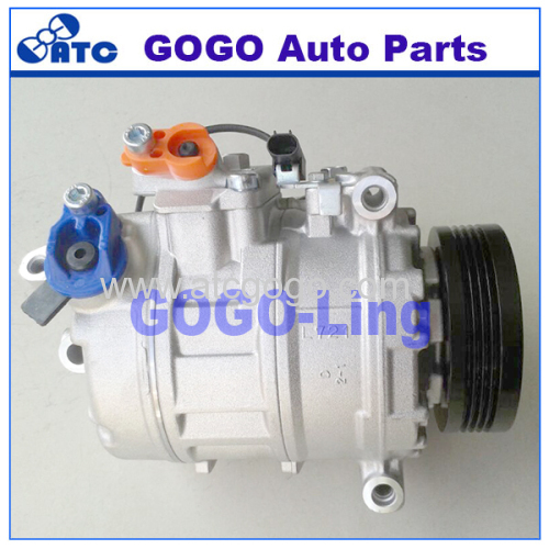 A/C Compressor with Clutch for BMW 525i 530i E60 2004-2005 OEM 64509118602 64509174802 64509180548 64526983098 6452691