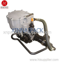 pneumatic coil strapper machine packaging