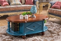 Retro style Wooden Centre Coffee Table
