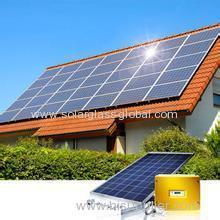 Energía solar fotovoltaica 5kw En sistema de techo de rejilla