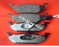 Car parts disc brake pads for VOLKSWAGEN beetle 2000-2003