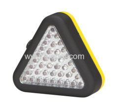 39-LED Triangle Worklight and Emergency Light Hook with Manget