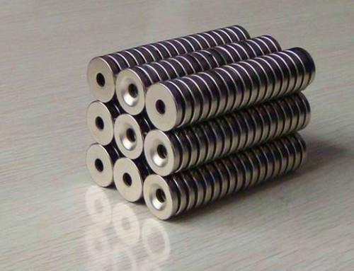 Neodymium permanent ring magnet for speaker