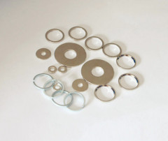 N38 sintered ndfeb ring magnets for motor