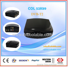 hd DVB-T2 set top box
