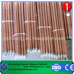 Internal Threaded Earthing Copper Ground Rod