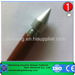 Threaded Copper Clad Extensible Earth Rod